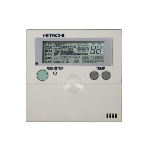 Hitachi Air Conditioning PC-2H2 E00477 Wired Remote Controller With Integrated Thermostat